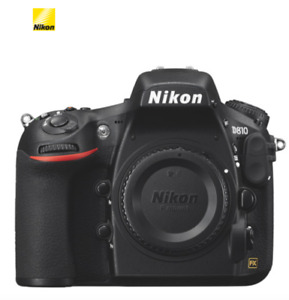 Brand New In Box Nikon D810 DSLR Camera (Body Only)