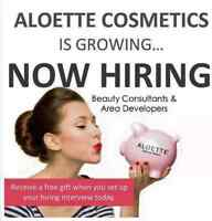 Change your life with Aloette!