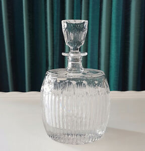 FIFTH AVE CRYSTAL ALCOHOL DECANTER #1