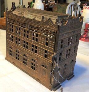 Cast Iron Trader's Bank
