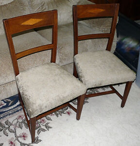 New Price - Pair Mahogany Side Chairs. Antique George III Period Kingston Kingston Area image 6