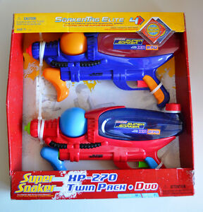 Super Soaker XP-270 Twin Pack (Brand new in box - never opened)