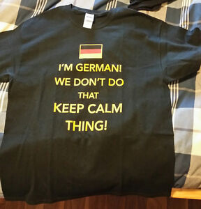 German TShirt - XL - NEW