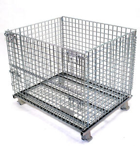WIRE MESH CONTAINERS, BULK BOXES, STACKING BINS, DUMPING HOPPERS Kitchener / Waterloo Kitchener Area image 7