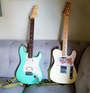 FENDER USA DOUBLE FAT STRAT & USA FENDER AMERICAN SPECIAL TELE