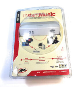 New ADS Tech Instant Music RDX-150-EF Records Old Music to CD MP