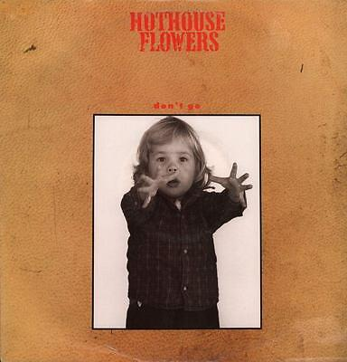 "Hothouse Flowers(12"" Vinyl P/S)Don't Go-London-LONX 174-UK-1988-VG+/Ex"