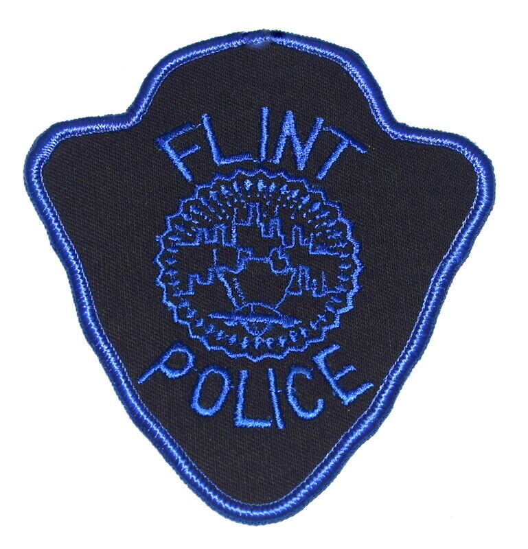 FLINT – SWAT - MICHIGAN MI Sheriff Police Patch SUBDUED CITY SEAL USED ~