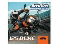 KTM 125 Duke 2020 - Save £500! Only £3,799 OTR
