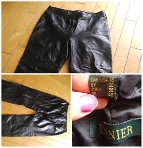 Pantalon en cuir XL (16 ans)