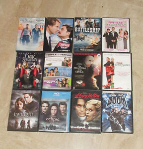 DVD Movies - Twilight Sleepy Hollow The Campaign Battleship...
