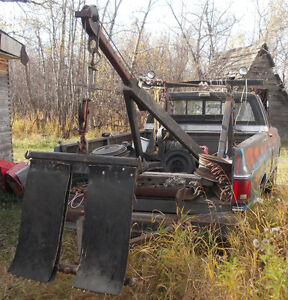SLIDE-IN WRECKER FOR TOW TRUCK. FITS ALL TRUCKS WITH 8' BOX Strathcona County Edmonton Area image 2
