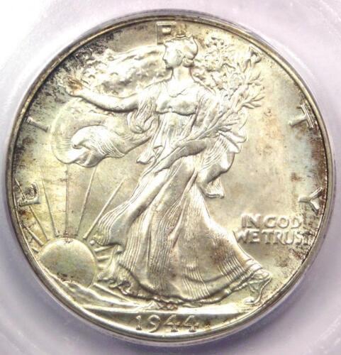 1944-D Walking Liberty Half Dollar 50C Coin - Certified ICG MS67 - $780 Value!