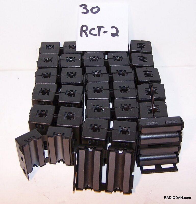 RFI EMI chokes filters suppressors ferrite core 30 RCT2