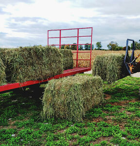 Oats and Peas Baleage (silage) hay