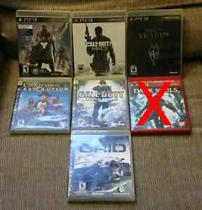 Assorted PS3 Games ($10)