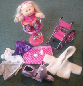 CABBAGE PATCH DOLL AND ACCESSORIES