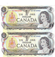 1973 & 1986 Uncirculated Pairs