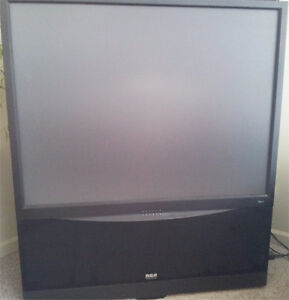 """RCA 52"""" Home Theater Rear Projection TV Model P52921"""