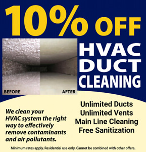 Vents Cleaning Service $110 6476957952
