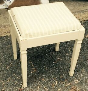 Vintage Sewing Machine Seat