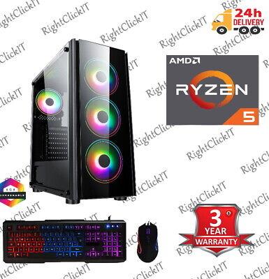 Gaming PC AMD Ryzen 5 3400G Quad Core 3.7GHz 16GB 1TB Vega Graphics