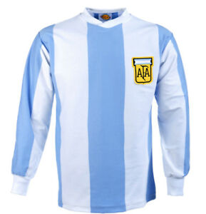 Argentina 1978 World Cup - TOFFS luxury retro soccer jersey- new