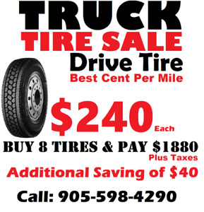 11R22.5 Truck Tire Sale (Closed Shoulder)