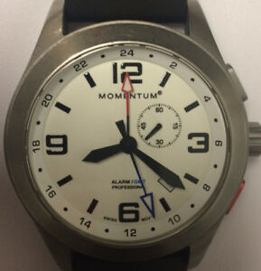 Men's GMT Divers Watch with Alarm and Custom Titanium strap
