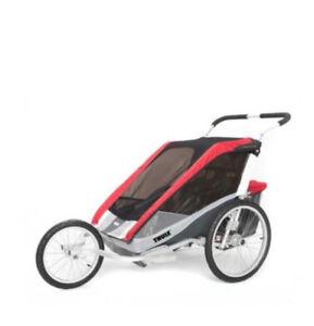 Chariot cougar Thule en parfaite condition et options complètes!