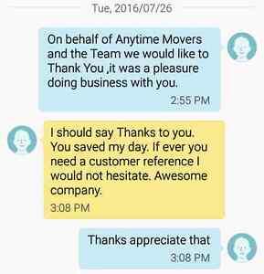 Anytime Movers / Deliveries Edmonton Edmonton Area image 9