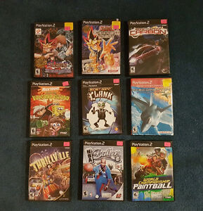 Sony PS2 Games