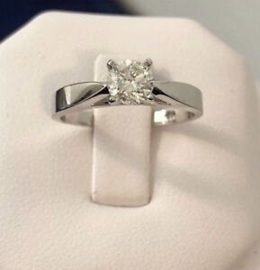 14k gold .57ct. diamond engagement ring /certified at $4,700