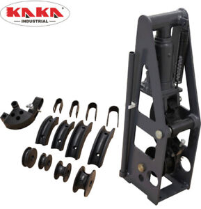 Heavy-Duty 8 Tons Hydraulic Metal Tubing Bender with 5 Set Tools
