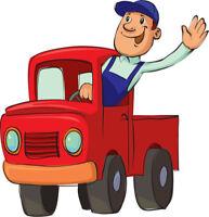 Petits déménagements et transport de meubles a bas prix!