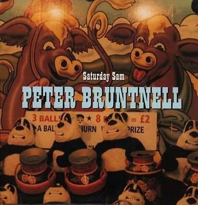 """Peter Bruntnell(7"""" Vinyl P/S)Saturday Sam-Almo Sounds-7ALM42-UK-Ex-/Ex"""