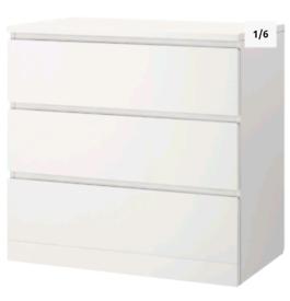 IKEA Malm Draws (Unopened)