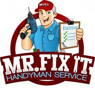 Mr. Fix It Handyman Services