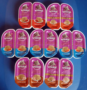 Whiskas Perfect Portions Wet Cat Food 7 packs (14 servings)