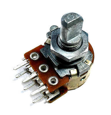 100k Potentiometer Dual Audio Alps Rk16312a 3lot