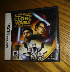Nintendo DS Star Wars - The Clone Wars Republic Heroes