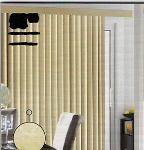Custom Verticle Blinds