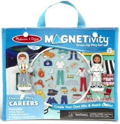 MAGNETIVITY Magnetic Dress-Up Play Set Dress & Play Careers Melissa & Doug 30653