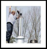 Ramonage ramoneur et installateur de cheminée