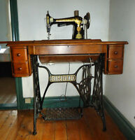 Lovely antique Singer treadle sewing machine