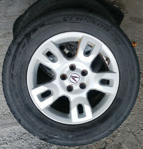 4 mags acura Mdx pneus d'été 235-65-17