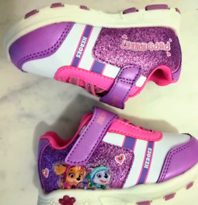 Brand New girl's light up Paw Patrol running shoes