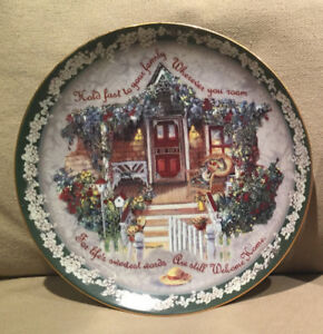Glenna Kurz - Hold Fast To Your Family Collector Plate