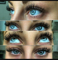 EYELASH EXTENSIONS SALE $45 CLUSTER LASHES