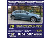 Mercedes-Benz A200 1.8CDI Blue F 7G-DCT 2013MY AMG Sport Car Finance From £70PW for sale  Manchester City Centre, Manchester